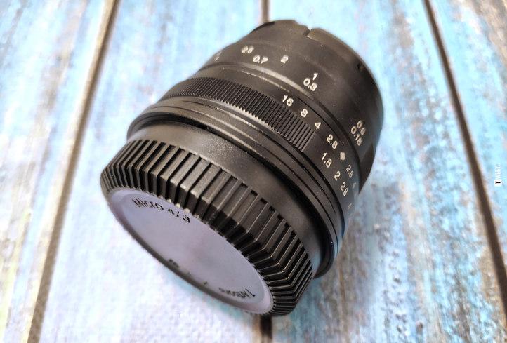 7Artisans 25 mm f1.8
