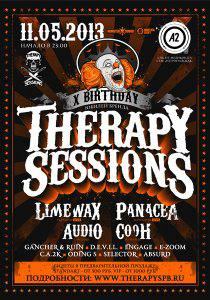 THERAPY SESSIONS: LIMEWAX (live), PANACEA (live), AUDIO, COOH