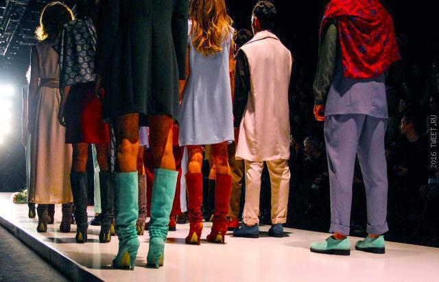 Модная весна в «Манеже» или начало недели моды Mercedes-Benz Fashion Week.