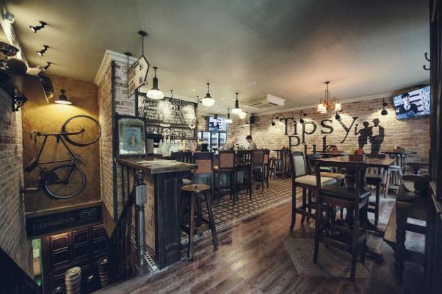 Ирландский паб The Tipsy pub  class=