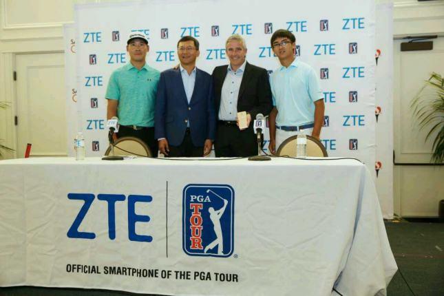 ZTE – первый официальный смартфон PGA TOUR