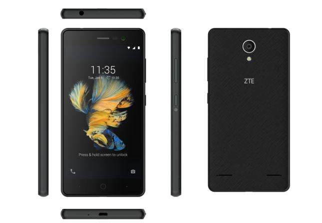 ZTE BLADE A520C – простой смартфон с непростыми возможностями