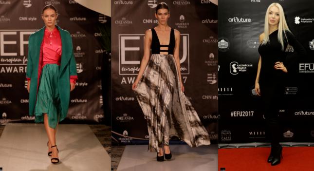 Международный конкурс дизайнеров European Fashion Union состоялся в  Будапеште