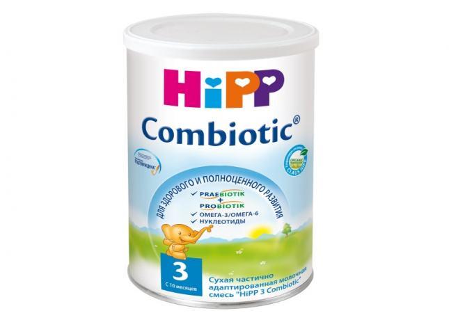 Молочные смеси HiPP 3 Combiotic  – здоровое развитие малышей с 10 месяцев