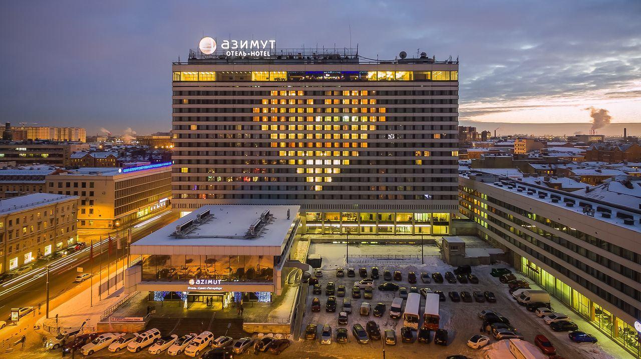 В День Святого Валентина AZIMUT Hotels дарит сердца