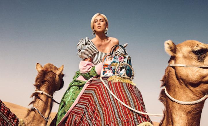 На обложку летнего L'OFFICEl Arabia попала русская красавица Ангелина Вангор