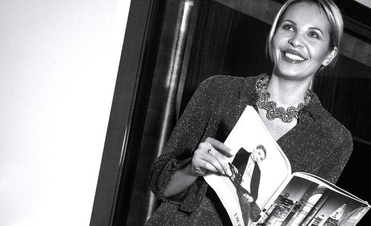 Елена Шерипова презентует первый выпуск журнала «VMODE»